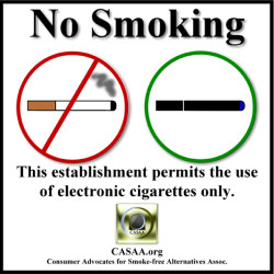 Vaping Allowed | No Smoking